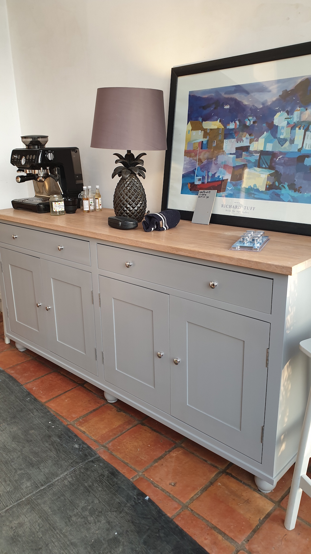 Neptune furniture hand painted by Traditional Painter Paul Barber