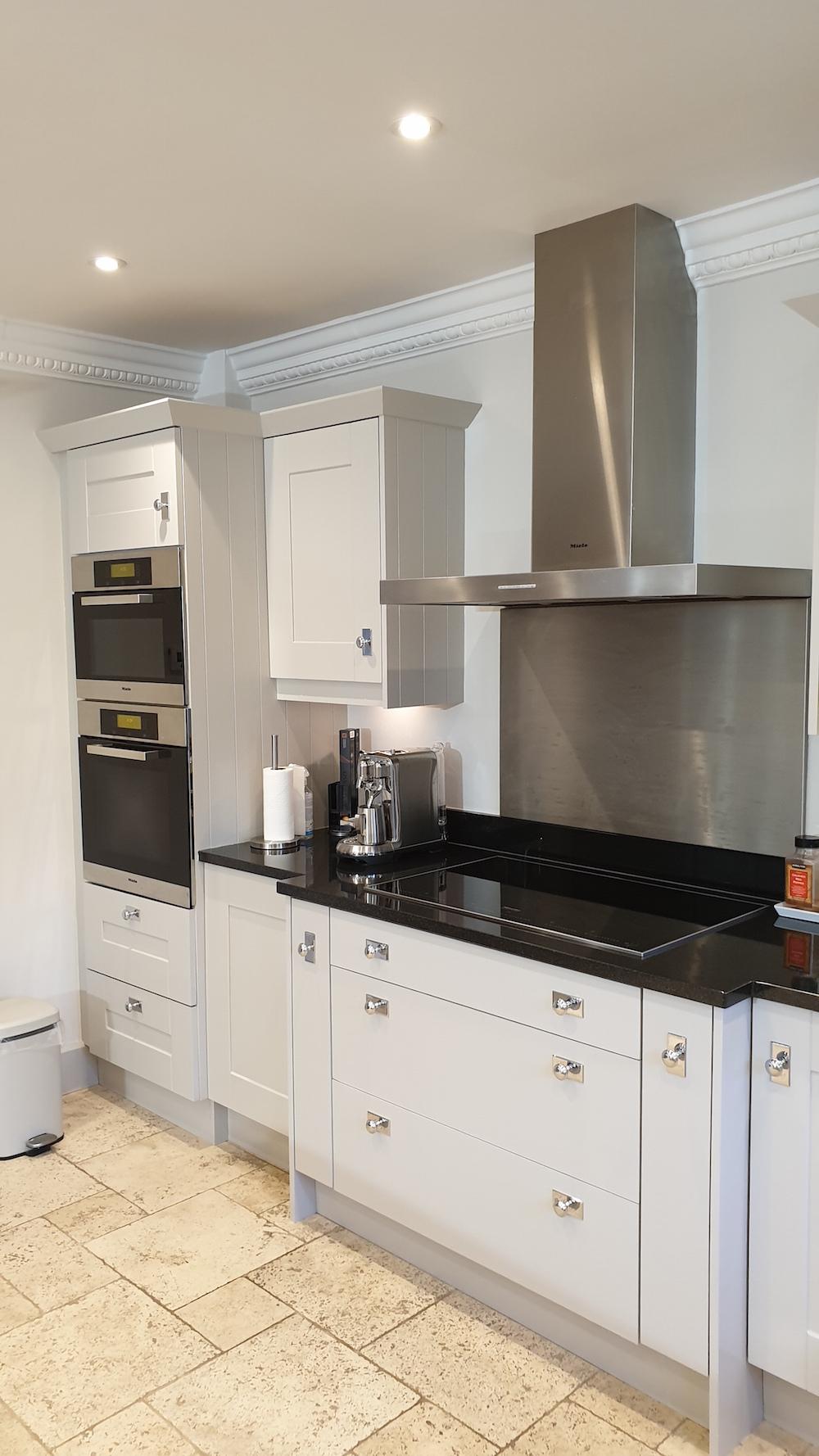 Kitchen painted in Radlett in 2020
