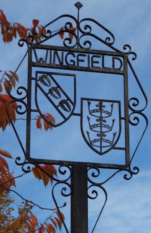 Historic village of Wingfield