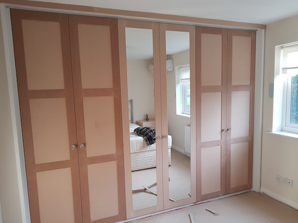 painted fitted wardrobes SE London