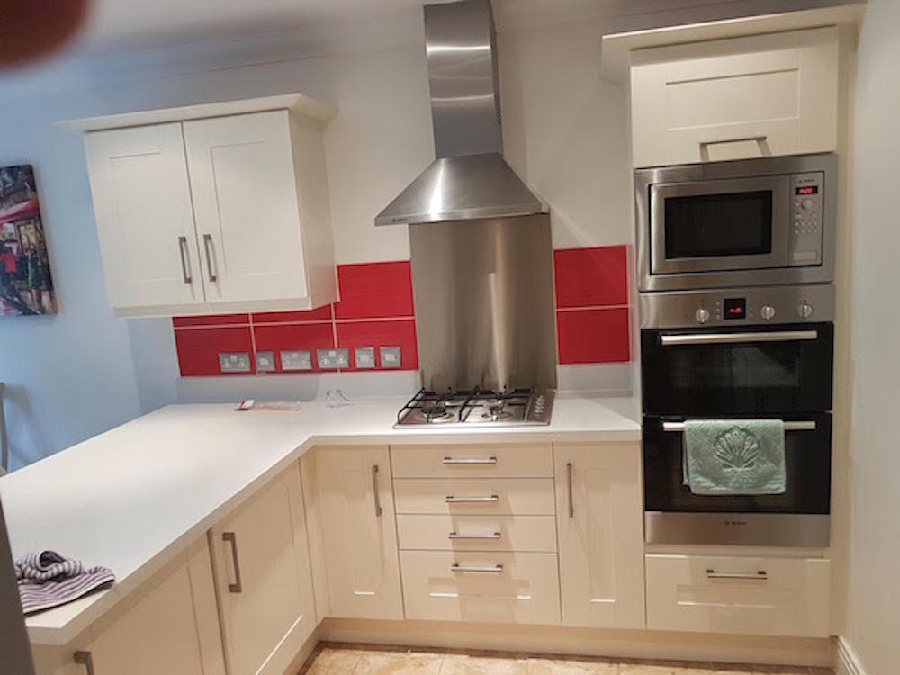 hand painted kitchen in Essex
