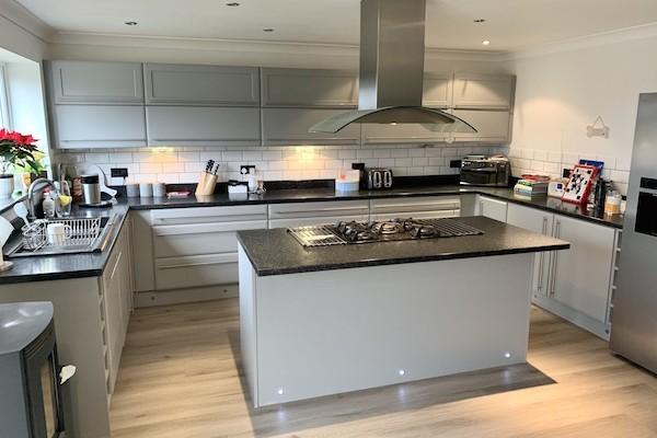 hand painted kitchen Norfolk
