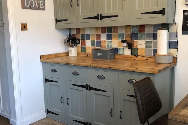 painted kitchen Cardiff