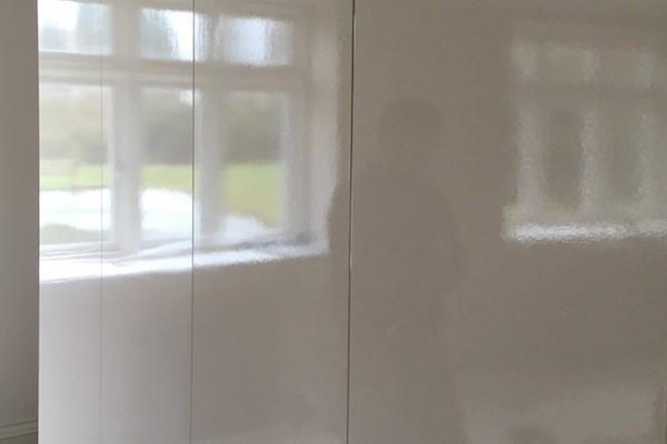 sprayed wardrobe
