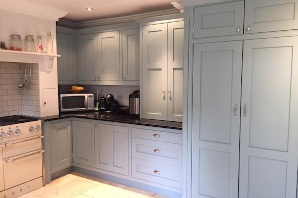 kemsing painted kitchen