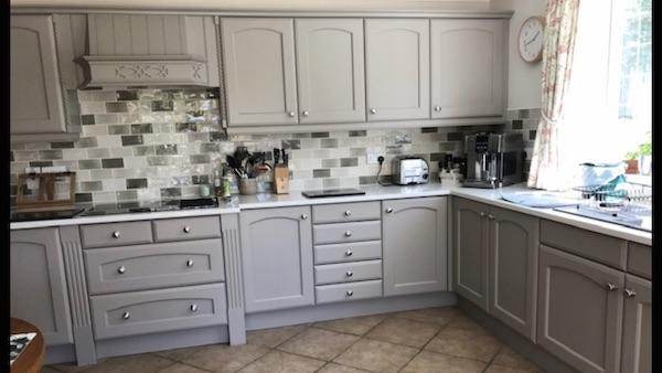 hand painted kitchen Warwicksh