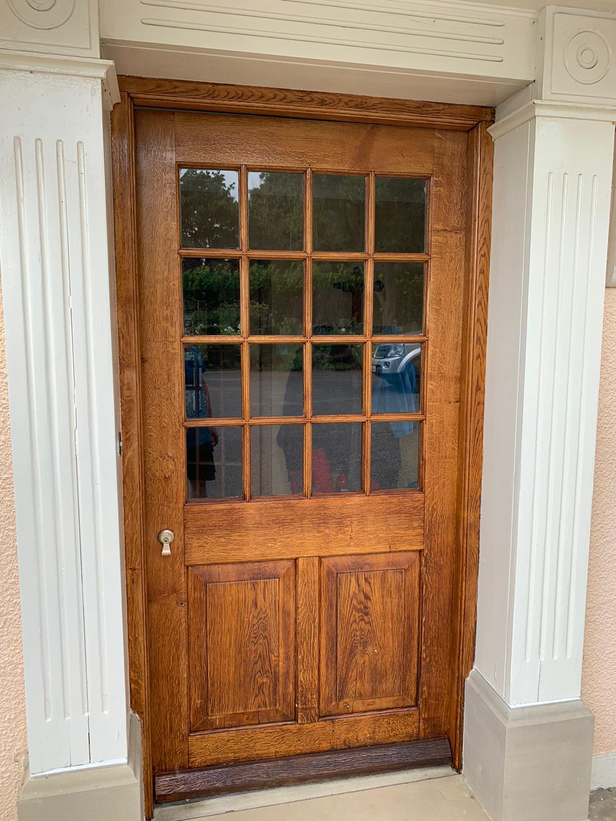 oak door restoration
