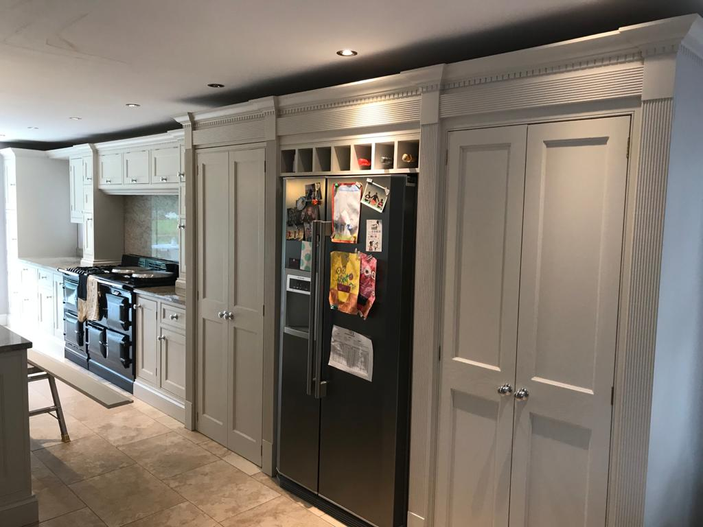 Kitchen painted in N Wales by Mark Roberts