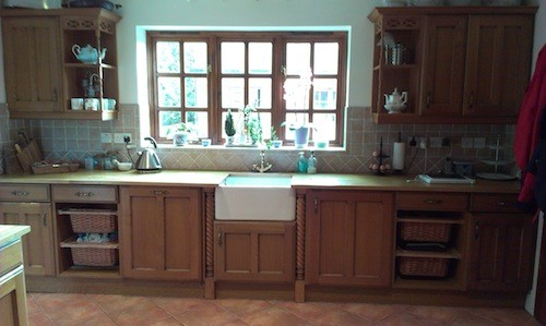 wooden kitchen staffordshire