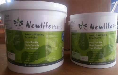 Newlife recycled paint