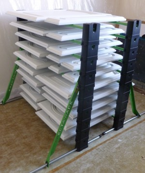 Fully stocked Erecta Rack