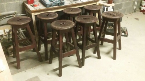 bar stools to restore
