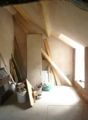 The bedroom before painting began