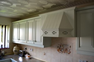Eggshell Painted Kitchen