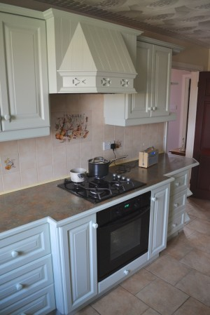 Hand Painted Kitchen Aberdare South Wales