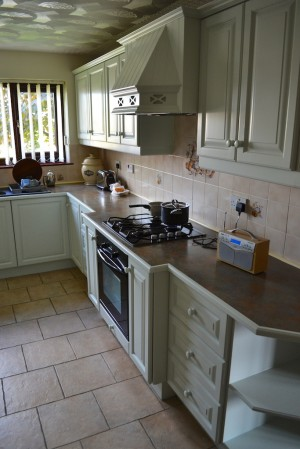 Hand Painted Kitchen South Wales