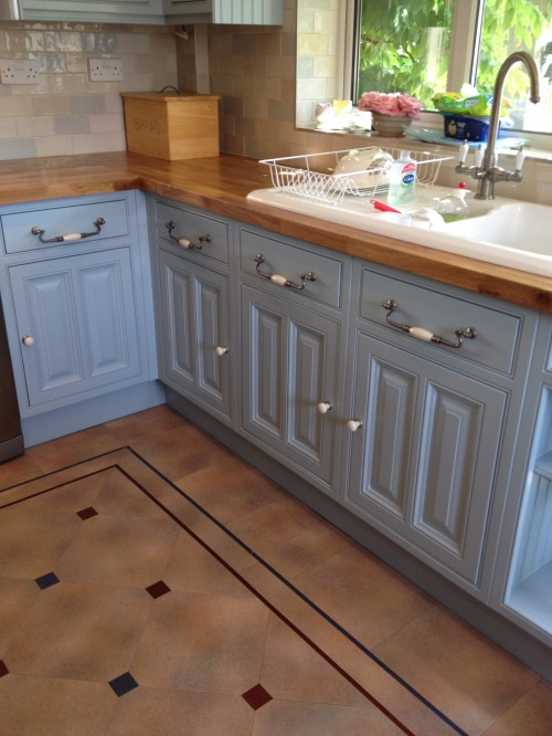 hand painted kitchen Rugby