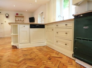 Hand Painted Pine Kitchen, Linton (15)