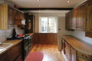 Hand Painted Pine Kitchen, Linton (8)