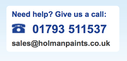 order paint from Holmans by phone quote TP5