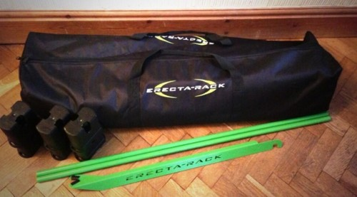 Erecta rack in a bag