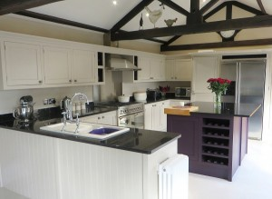 The finished kitchen - painted and transformed