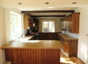 Hand Painted Pine Kitchen, Linton (6)
