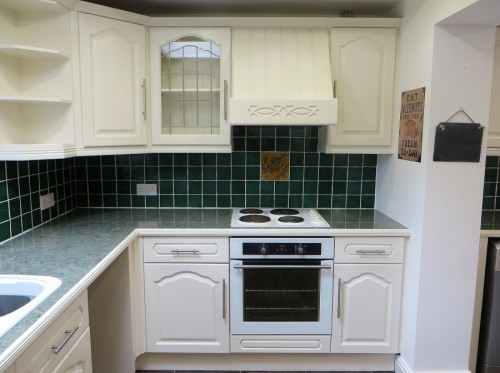 Hand Painted Oak Kitchen, Marea (4)