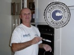 Paul C Barber hand painted kitchens northamptonshire
